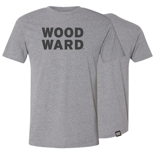Woodward Stacked Logo Light Short Sleeve T-Shirt