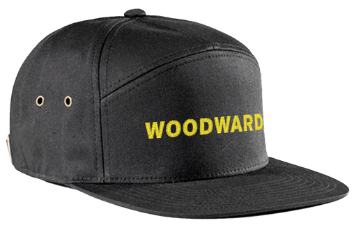Woodward Line Logo 7 Panel Hat