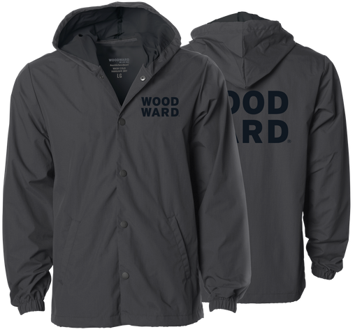 STACKED WOODWARD WINDBREAKER