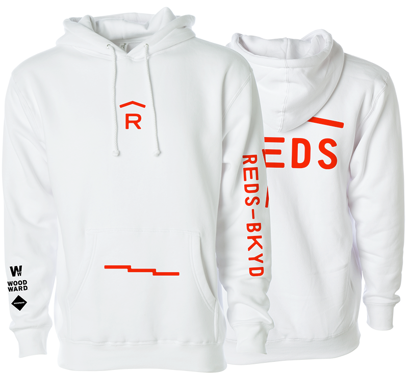 REDS Classic Whiteout Hoodie
