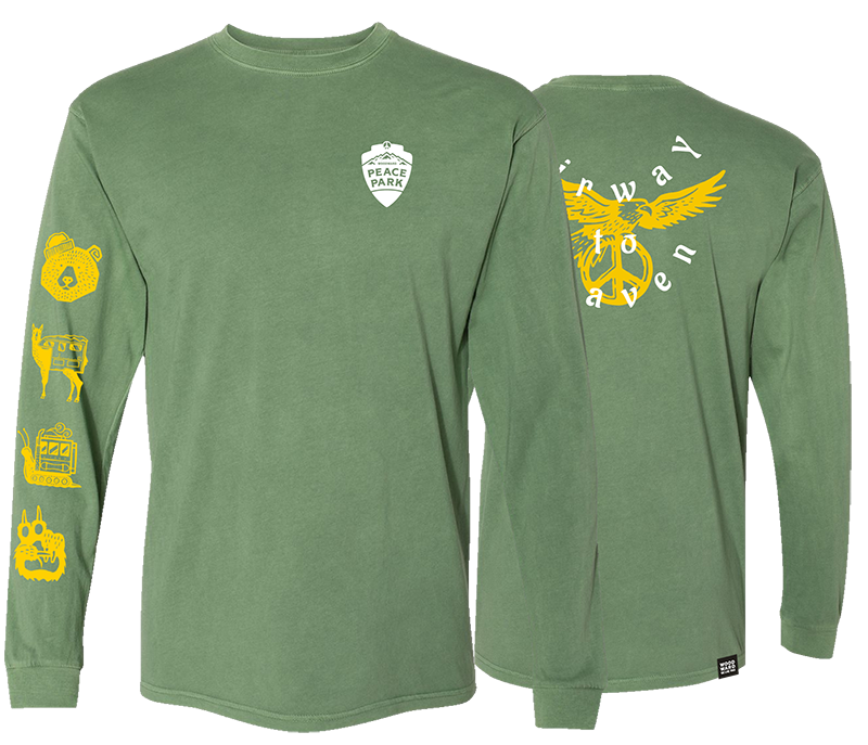 Peace Park Clover Long Sleeve T-Shirt