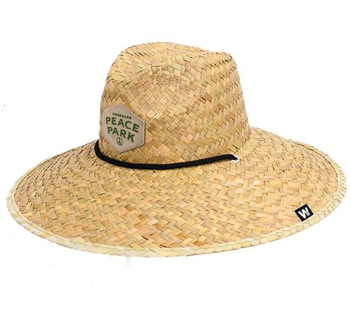 Peace Park Straw Hat