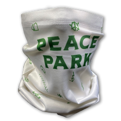 Peace Park All-Over Icons Gaiter