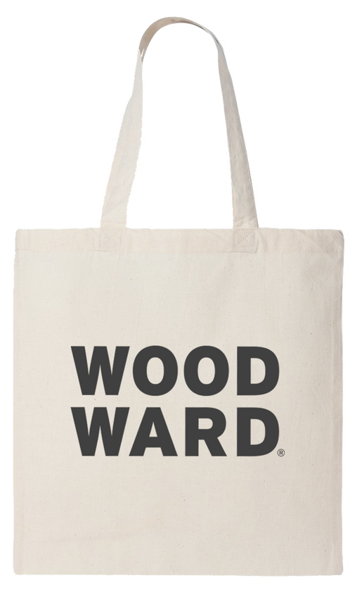 Woodward Stacked Logo Tote Bag