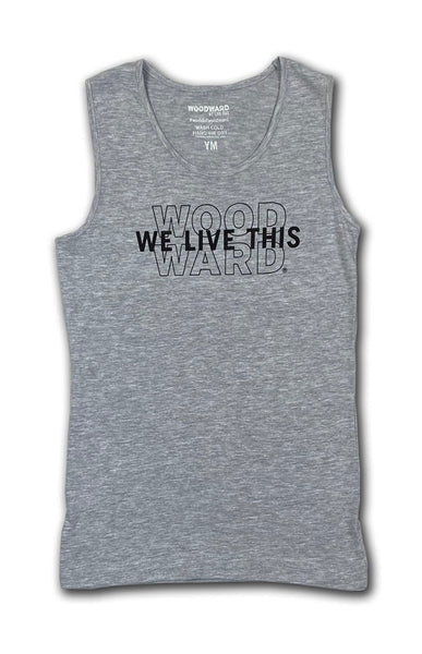 "Woodward ""We Live This"" Girls Tank Top"