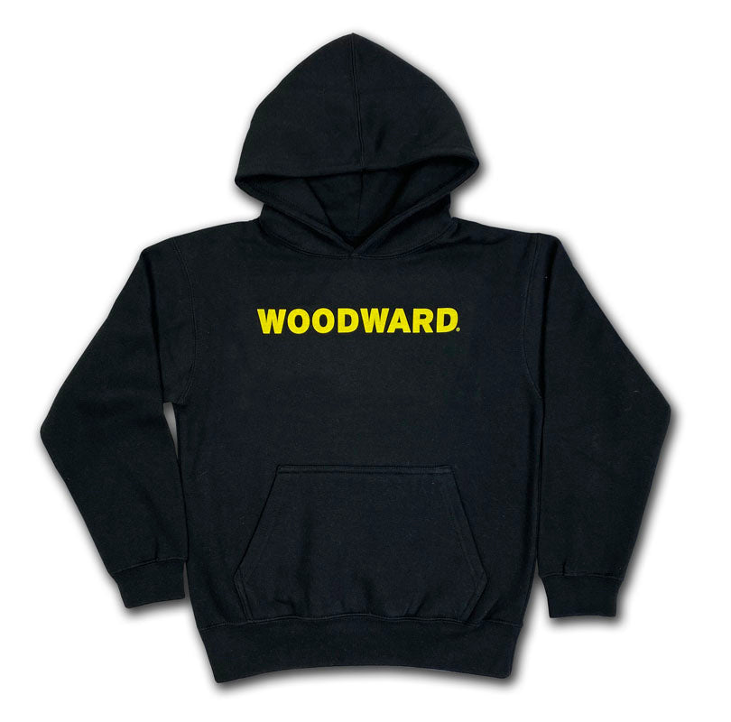 Youth Woodward Line Logo Hooded Pullover