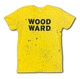 Splatter Dye Stacked Woodward Logo Short Sleeve T-Shirt