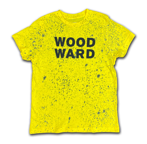 Youth Splatter Dye Stacked Woodward Logo Short Sleeve T-Shirt