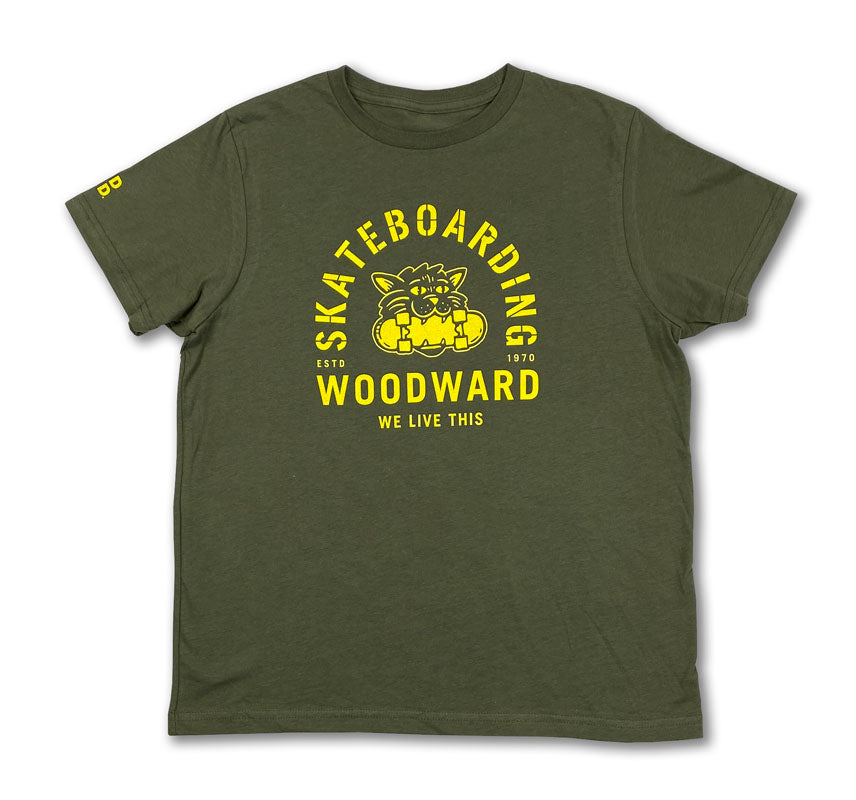 "Youth Woodward ""We Live This"" Short Sleeve T-Shirt"