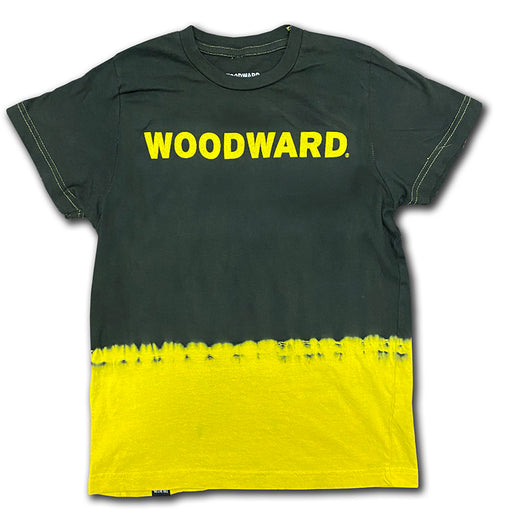 "Youth ""We Live This"" Woodward Line Logo Dip Dye Short Sleeve T-Shirt"