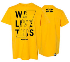Youth We Live This Hashmark T-Shirt