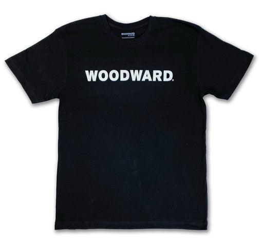 Woodward Line Logo Dark Short Sleeve T-Shirt