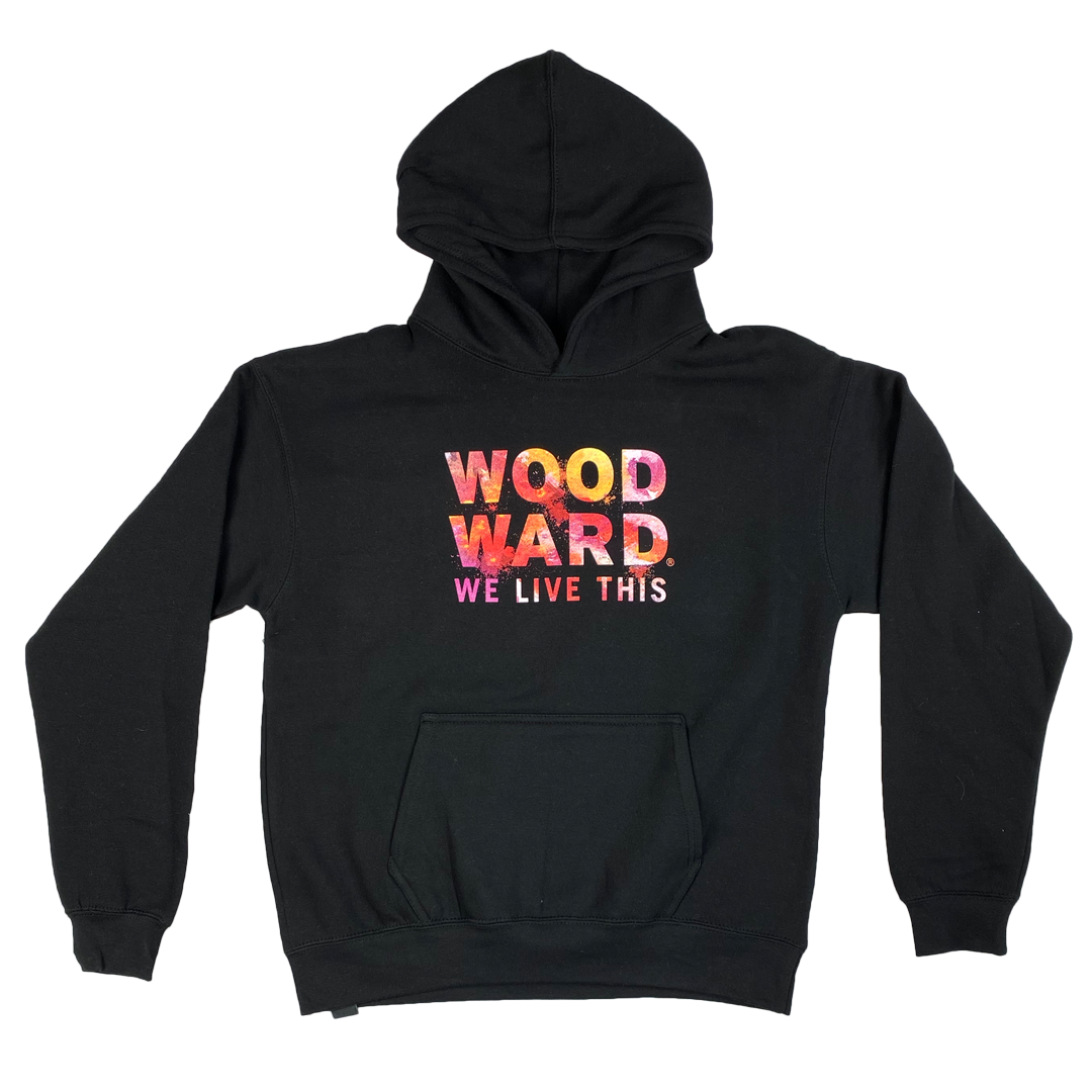 Youth Watercolor Woodward Hoodie