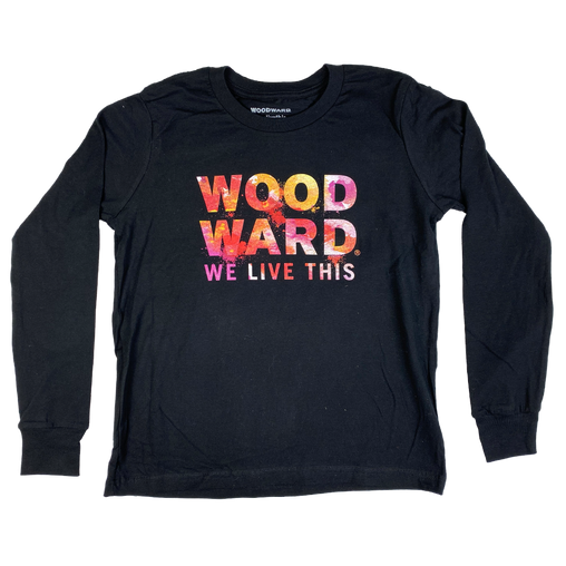 Youth Woodward Water Color Long Sleeve T-shirt