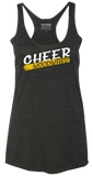 CHEER RACERBACK VINTAGE TANK TOP