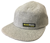 WOODWARD DICKIES 5 PANEL HAT GREY WOOL