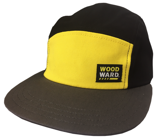 WOODWARD DICKIES 5 PANEL HAT STACKED PATCH
