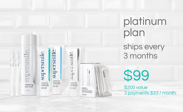 Platinum Smile Plan - 3 Easy Payments