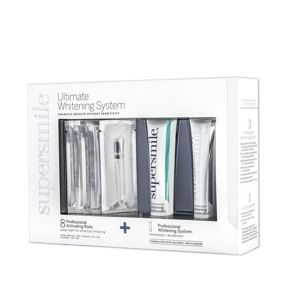 Supersmile Ultimate Whitening System With Whitening Tooth Paste, Accelerator And Activation Rods