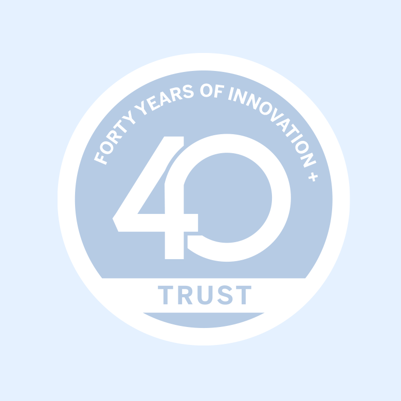 fourty years of innovation, company years, loyalty, trust