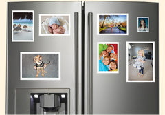 Pictures on fridge