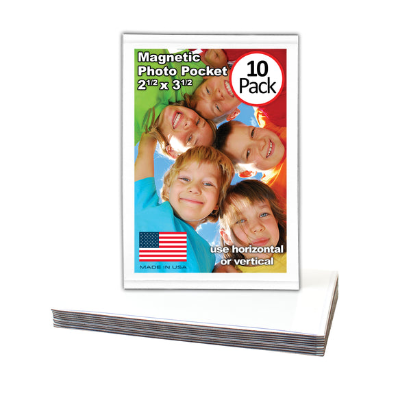 magnetic picture frame 2.5 x 3.5 made in usa