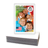 school picture size magnetic photo pocket 25 pack