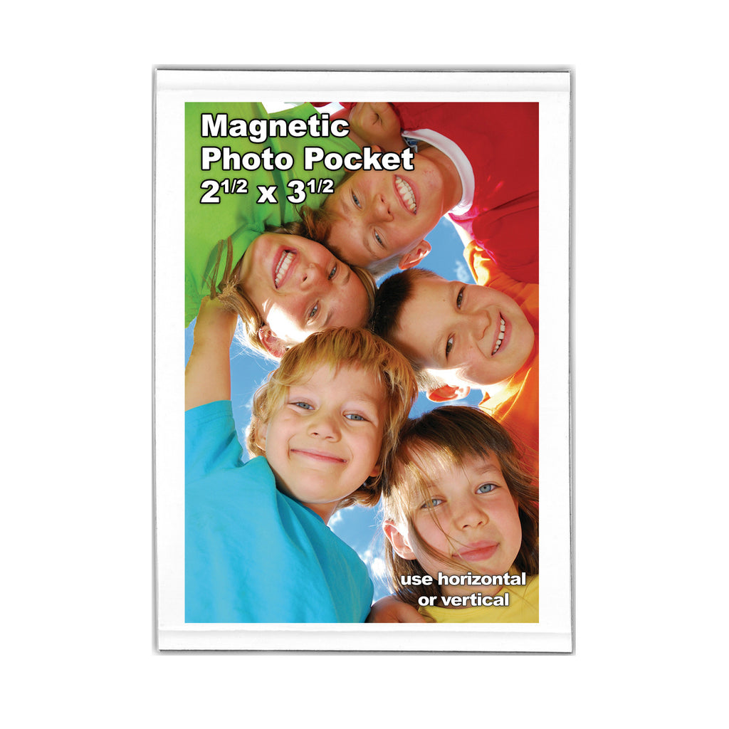 2.5x3.5 magnetic picture frame