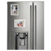 fridge with magnetic picture frames