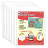 8.5x11 mulit-use magnetic pocket, 10 pack