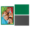 green magnetic photo pocket frame for refrigerator, 4x6