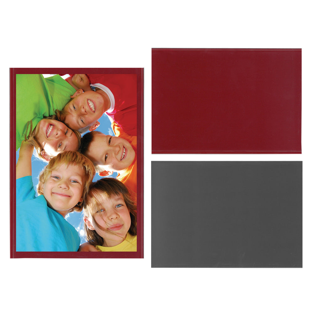 red magnetic picture frame, great for valentine's day and christmas