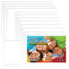 large pack of magnetic picture frames with many sizes