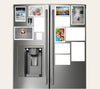 great ideas for refrigerator with magnetic picture frames