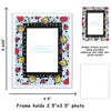 backpack border school picture day photo pocket for fridge