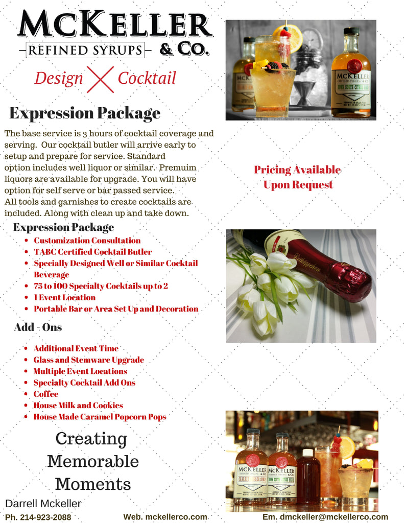Cocktail Catering Options