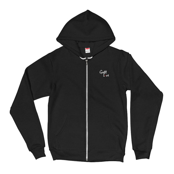 Gott Love Fleece Hoodie (White Logo)