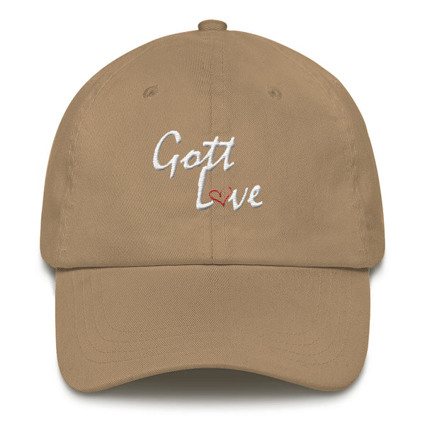 Gott Love Dad hat (White Logo)