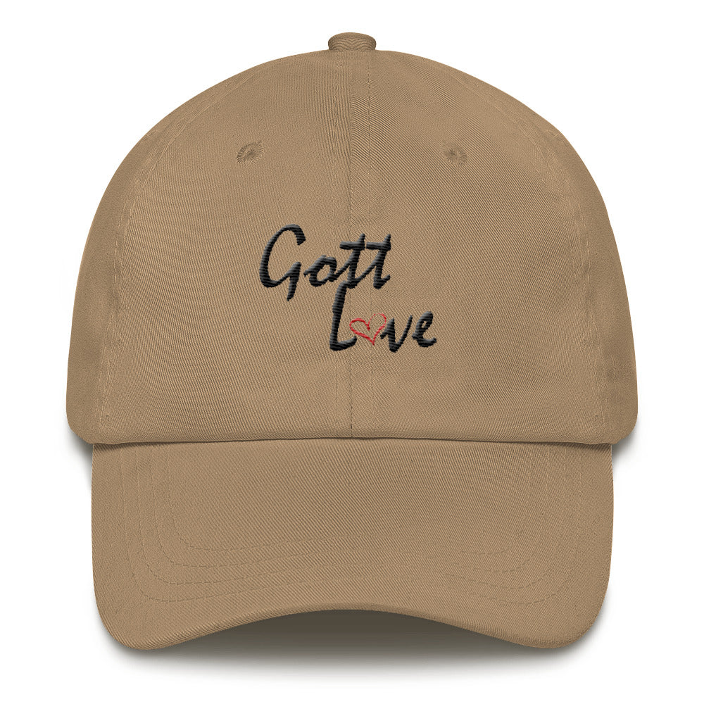 Gott Love Dad hat (Black Logo)