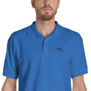 Gott Love Embroidered Polo