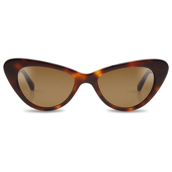 Ollie Quinn isabella polarised women's sunglasses in havana