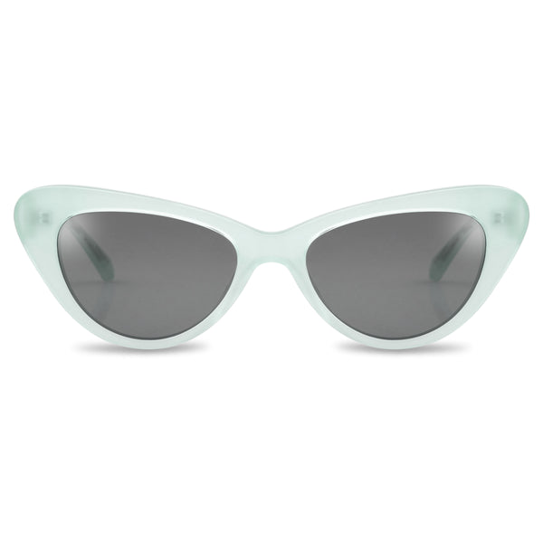 Ollie Quinn isabella polarised women's sunglasses in jade