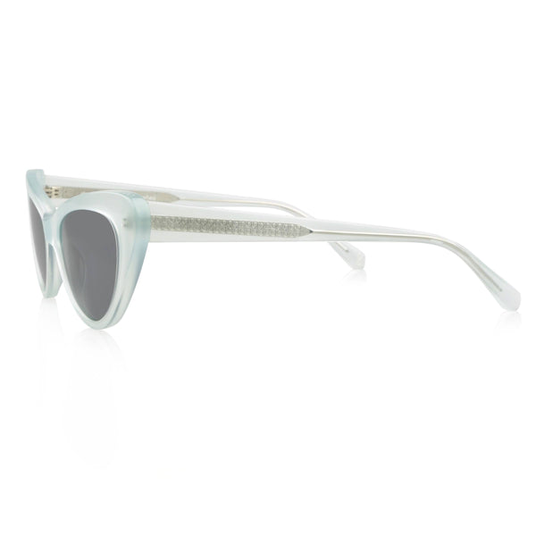 Ollie Quinn isabella polarised women's sunglasses in jade side