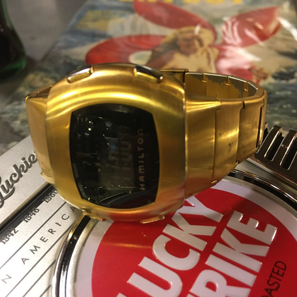 "HAMILTON Pulsar ""Time Computer"" Digital Watch History"