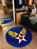 USAAF/USAF Insignia Rug 飛行之星 地墊  (US COUNTRY STORE 20th Anniversary Limited Edition)