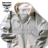 Houston - HANG LOOPER SWEAT HOODIE CRAZY #21861 撞色運動衫 帽TEE