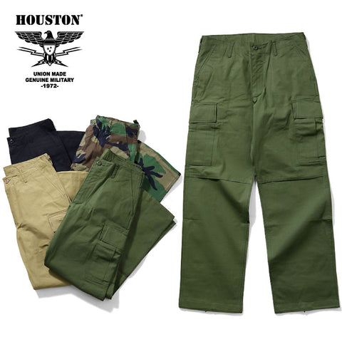 HOUSTON -  RIPSTOP BDU PANTS #1883 BDU 抗撕裂野戰長褲