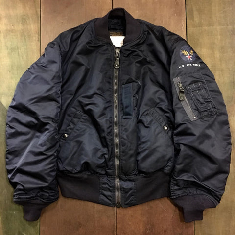 【uscountrystore】-  MIMURA YOKOALPHA INDUSTRIES, INC. B-15C(MOD) / B-15D(MOD) Jacket, ALPHA INDUSTRIES, INC. SIZE 40 LARGE Dead Stock, 1998