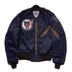 【uscountrystore】-  BIRDIE MADEBIRDIE MADE L-2A FLIGHT JACKET, Nationalist Chinese Air Force 43rd FTR, TEST SAMPLE 1959