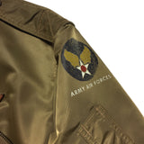 【uscountrystore】-  BIRDIE MADEBIRDIE MADE L-2 Flight Jacket, 504th Parachute Infantry Regiment, Used Sample